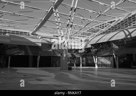 Trade Fair and Congress Center of Malaga (Palacio de ferias y congresos). Spain. - Stock Photo