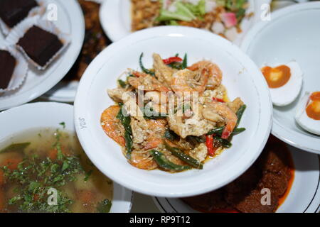Delicious Fried Organic Coconut Shrimp - Stock Photo