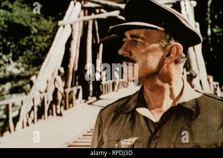 THE BRIDGE ON THE RIVER KWAI, ALEC GUINNESS, 1957 - Stock Photo