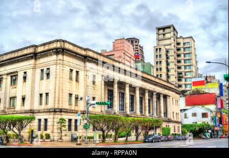 Bank of Taiwan historic Head Office buildings in Taipei - Stock Photo