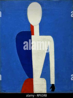Torso 1928-1929 Kazimir Malevich 1878-1935 Russia, USSR, Russian, Federation, - Stock Photo