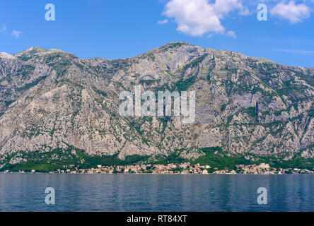Montenegro, Bay of Kotor, Dobrota - Stock Photo