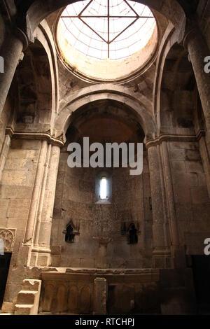 Christian church ceiling - interior - Stock Photo