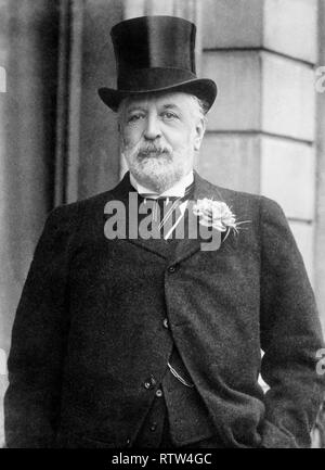 nathaniel mayer rothschild 1st baron rothschild Lord Rothschild baron de rothschild - Stock Photo
