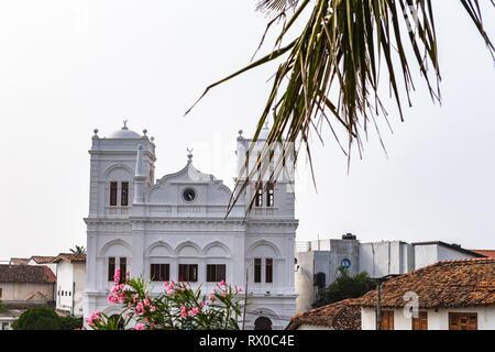 Meera Mosque. Galle, Sri Lanka. - Stock Photo
