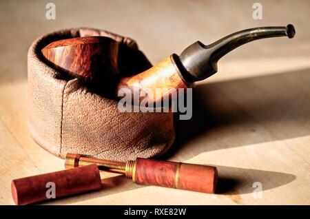 Stilleben Tabak Pfeife - Stock Photo