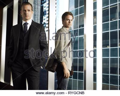 GABRIEL MACHT, PATRICK J. ADAMS, SUITS : SEASON 1, 2011 - Stock Photo