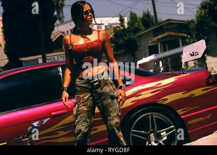 MICHELLE RODRIGUEZ, THE FAST AND THE FURIOUS, 2001 - Stock Photo