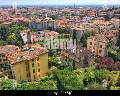 Bergamo Italy - Stock Photo