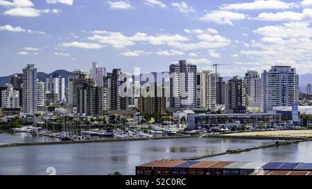 Montevideo marina - Stock Photo
