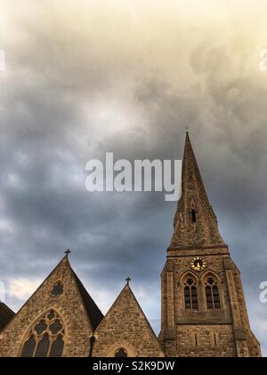 All Saints Church in Blackheath London England on March 30 2019 - Stock Photo