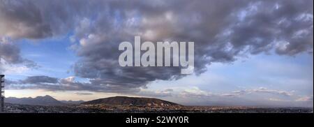 Panoramic Cityscape - Stock Photo