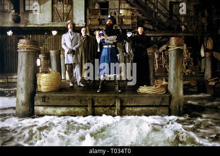 THE LEAGUE OF EXTRAORDINARY GENTLEMEN, STUART TOWNSEND, SEAN CONNERY, SHANE WEST, NASEERUDDIN SHAH, TONY CURRAN , PETA WILSON, 2003 - Stock Photo