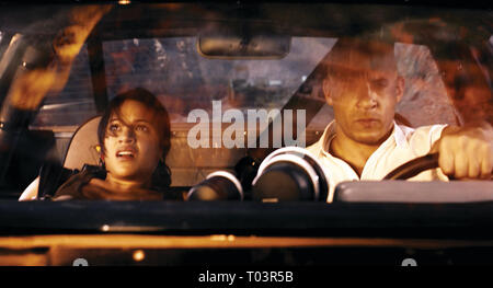 MICHELLE RODRIGUEZ, VIN DIESEL, FAST and FURIOUS, 2009 - Stock Photo