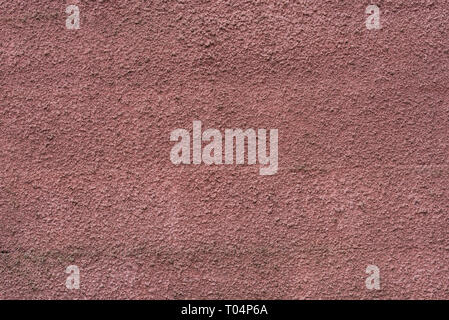 brown color plastered wall background texture - Stock Photo