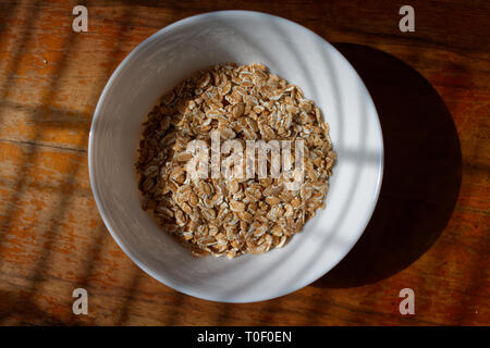 Food ingredient in white bowl - Stock Photo