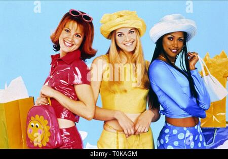 ELISA DONOVAN, RACHEL BLANCHARD, STACEY DASH, CLUELESS, 1996 - Stock Photo