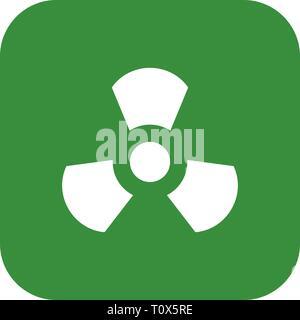 Illustration Radiation  Icon - Stock Photo