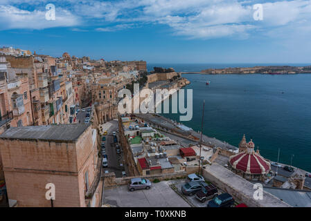 LA VALLETTA - Stock Photo
