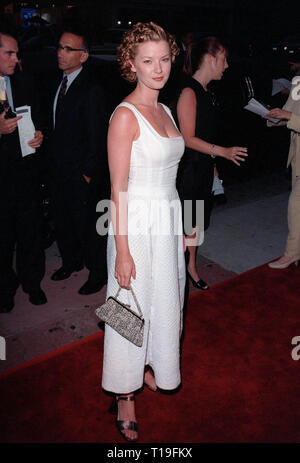 LOS ANGELES, CA - August 25, 1998: Actress GRETCHEN MOL at the world premiere, in Hollywood, of her new movie, 'Rounders.' - Stock Photo