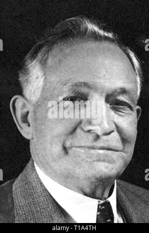 religion, sect, Mormon, David O. McKay, 1873 - 1970, Second Counselor, later 9th President, portrait, from: 'Life Magazine', New York, January 1938, Additional-Rights-Clearance-Info-Not-Available - Stock Photo