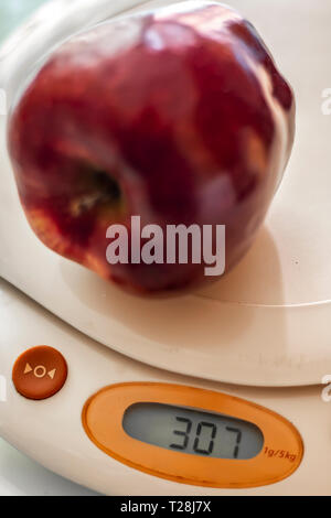Weighing the food - Stock Photo