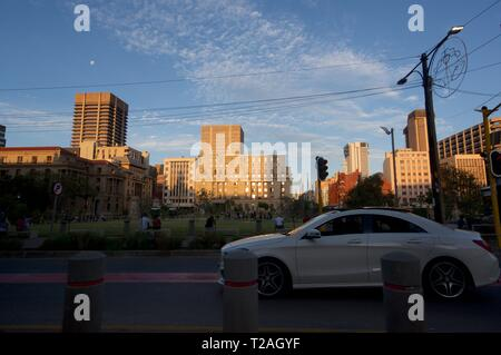 Kerkplein, Pretoria, Gauteng, South Africa - Stock Photo