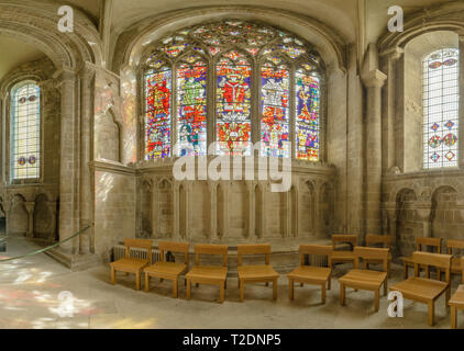 St Anselm's chapel at the world heritage site of Canterbury cathedral, England. - Stock Photo
