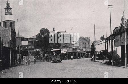 Du Toit's Pan Road - Stock Photo