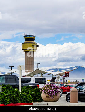 Palm Springs International Airport California USA - Stock Photo