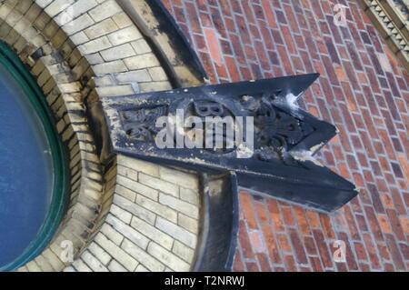 Titanic dry dock pump house Belfast - Stock Photo