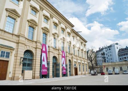 Liechtenstein Palace in Vienna City. - Stock Photo