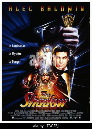 The Shadow  Year: 1994 USA Director: Russell Mulcahy Alec Baldwin Poster (Fr) - Stock Photo