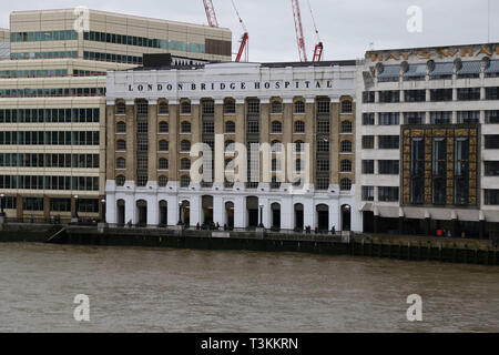 London Bridge Hospital, London, UK - Stock Photo