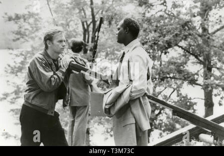 David Caruso and Samuel L. Jackson in the movie Kiss of Death, 1995 - Stock Photo