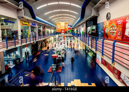 Panama City, Panama - November 08, 2016: The Albrook Mall in Panama City is the largest shopping center in the city. - Stock Photo