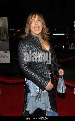 LOS ANGELES, CA. January 12, 2004: Actress KIM WHITLEY at the world premiere, in Hollywood, of Along Came Polly. - Stock Photo