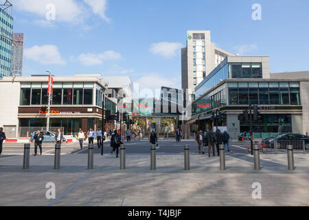 Westfield Shopping Centre, Stratford, London, England, United Kingdom. - Stock Photo