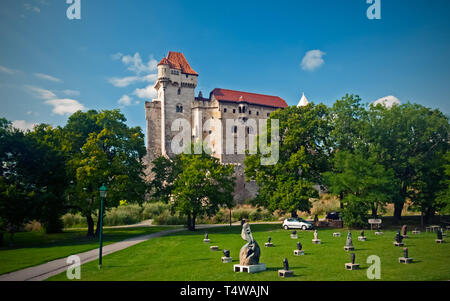 Liechtenstein castle - Stock Photo
