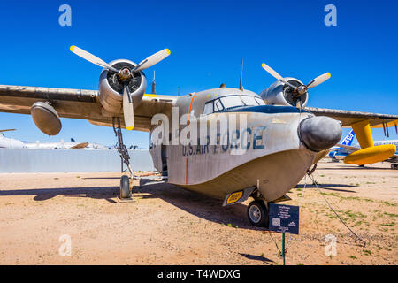 Grumman HU-16A Albatross - Stock Photo