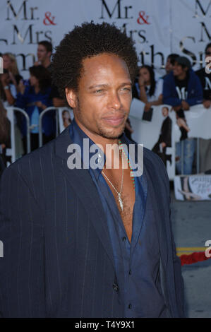 LOS ANGELES, CA. June 07, 2005: Actor GARY DOURDAN at the world premiere of Mr & Mrs Smith. © 2005 Paul Smith / Featureflash - Stock Photo