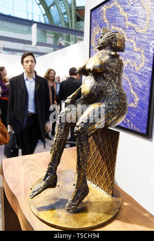 Paris, France. 3th April, 2019. Les Roberts d'Evelyne of Cesar exibited at  Paris Art Fair. Credit: Veronique Phitoussi/Alamy Stock  Photo - Stock Photo