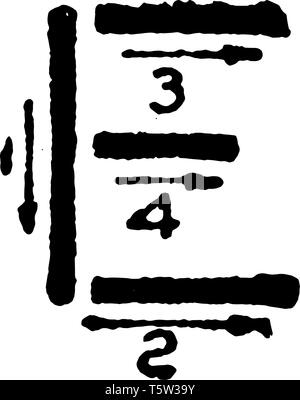 This is a picture of stroke technique for writing letter E in commercial gothic, vintage line drawing or engraving illustration. - Stock Photo