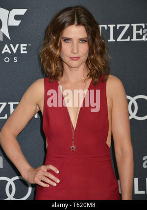 Cobie Smulders 395 attends the World Premiere Of Walt Disney Studios Motion Pictures Avengers Endgame at Los Angeles Convention Center on April 22, 2019 in Los Angeles, California. - Stock Photo