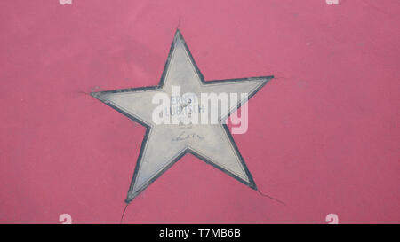 BERLIN, GERMANY - MAY 4, 2019: Star of Ernst Lubitsch At Boulevard der Stars, Walk of Fame In Berlin, Germany - Stock Photo