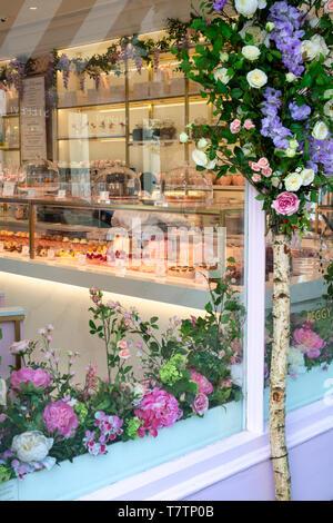 Peggy porschen cake shop exterior. Kings Road, Chelsea, London, England - Stock Photo
