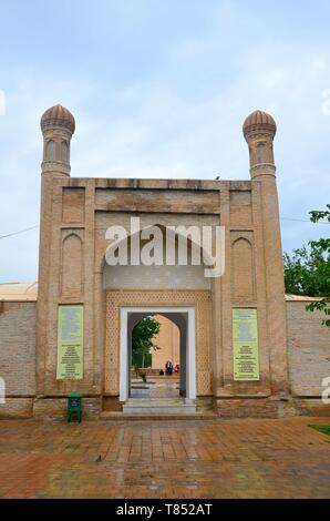 Samarkand in Usbekistan, UNESCO Weltkulturerbe an der Seidenstraße: das Ruhabat-Mausoleum - Stock Photo