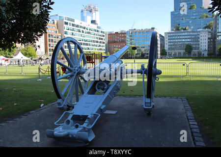 Honourable Artillery Company - Annual Open Evening, Finsbury Barracks, London, UK, 14 May 2019, Photo by Richard Goldchmidt - Stock Photo