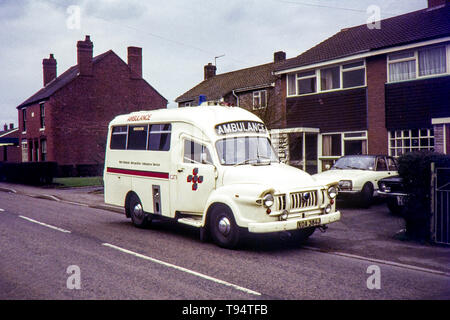 West Midlands Metropolitan Ambulance Service, Bedford J Lomas. Image taken during the early 1970s - Stock Photo
