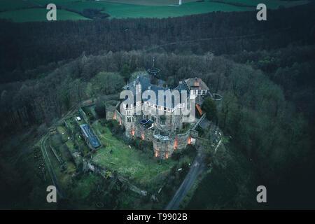 Berlepsch Castle Witzenhausen, Germany - Stock Photo